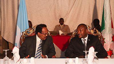Le président somalien en visite au Burundi