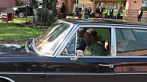 Photo: Joseph Kabila, DRC's ex-president who loves to drive himself