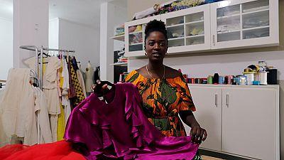 Senegalese designer hopes for vibrant fashion, garment industry