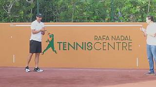 Tennis player Rafael Nadal opens tennis academy in Mexico