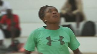 Senegalese female basketball player hopes to go global