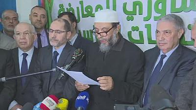 Algerian opposition leaders to field a single candidate for April polls?