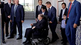 Algeria's president head to Switzerland for medical checks