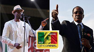 Senegal opposition aspirants face citizens at a public debate