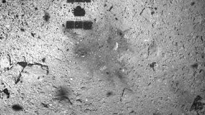 Japanese space probe lands on asteroid to seek origin of life