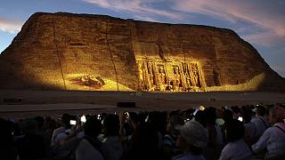 Egypt hosts African diplomats ton watch Ramses II sun phenomenon