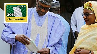 'I will congratulate myself, I'm going to be the winner' - Nigeria president
