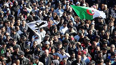 Algerian students protest against Bouteflika's fifth term bid