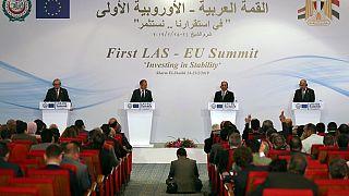 Premier sommet UE, Ligue-arabe : les dirigeants réunis en Égypte