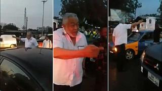 Viral video shows ex-Ghana president helping decongest traffic