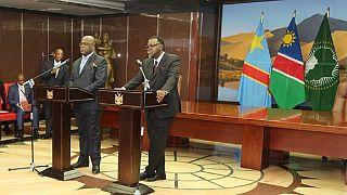 DRC president visits Namibia, 'evades' Kabila-era human rights record
