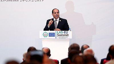Sommet UE - Ligue Arabe : Abdel al-Sissi défend la peine de mort
