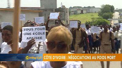 Ivory Coast teachers strike [The Morning Call]