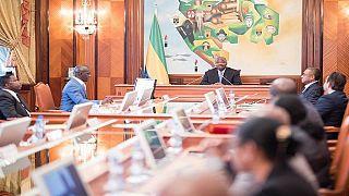 Gabon : pluie de nominations au 1er conseil des ministres d'Ali Bongo depuis octobre