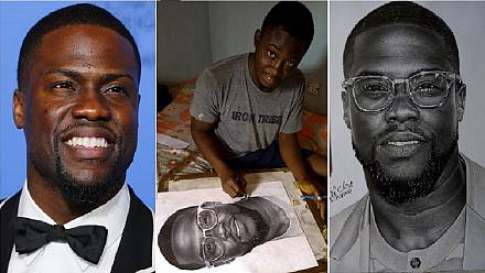 Tweet magic: US comedian, Kevin Hart, to buy piece by Nigerian artist