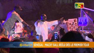 Macky Sall réélu au premier tour [Morning Call]