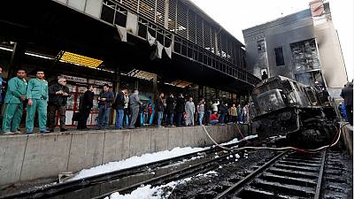 Six detained over Cairo train crash