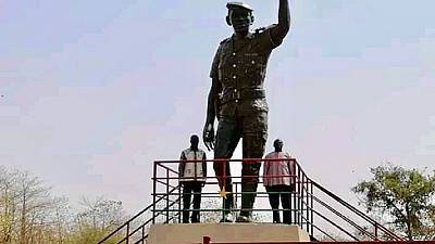 Burkina : inauguration d'une statue de Thomas Sankara à Ouagadougou