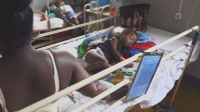 Épidémie de rougeole à Madagascar