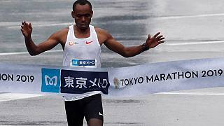 Ethiopia's Birhanu Legese wins Tokyo marathon