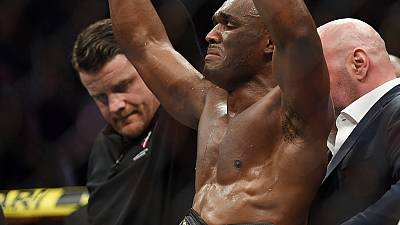 Kamaru Usman becomes first African born UF Champion