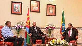 Ethiopia, Kenya, Eritrea leaders meet in Asmara for mini summit