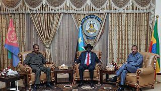 Ethiopia, Eritrea leaders visit South Sudan for high-level talks