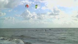Kitesurfers hope to make Libya water sports powerhouse