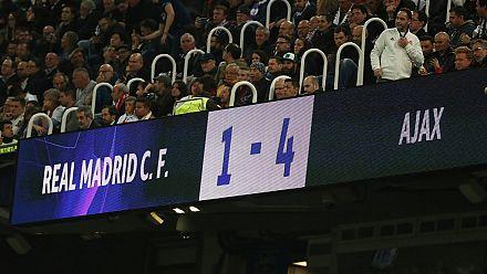 Ligue des Champions : Real éliminé, Ajax insolent et héroïque !