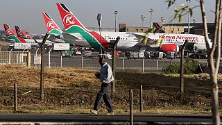 Kenya's main airport resumes operations after strike disruption
