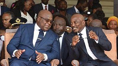 RDC : Tshisekedi et Kabila optent pour la formation d'un gouvernement de coalition