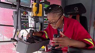 Faye Ngoma, son parcours d'opératrice de portique