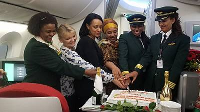 2019 IWD: Ethiopian operates all women functioned flight