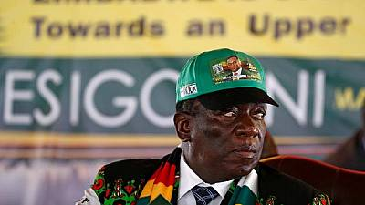 Zimbabwe president calls dialogue with opposition amid crisis
