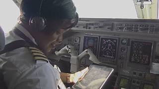 Mozambique airlines' first woman pilot