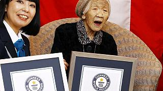 At 116 years, Japanese woman named world's oldest person