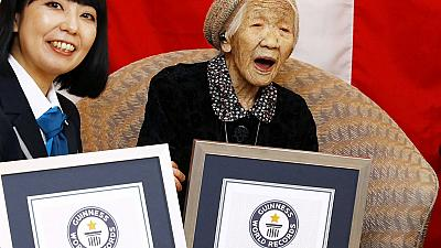 Japanese, 116, is oldest living person