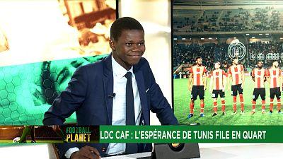 LDC CAF : l'Espérance Tunis et les Sundowns qualifiés pour les quarts