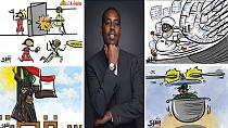 Sudanese cartoonist proud of 'amateur' online role in uprising