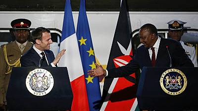 Macron in East Africa: Kenyatta, World Bank, AfDB commit to tackling climate change
