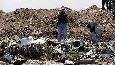 Boeing sends team to site of deadly Ethiopian plane crash