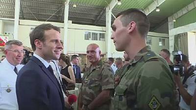 Macron visits French troops in Djibouti