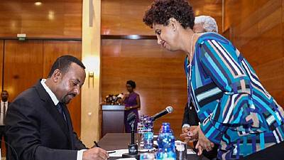 Ethiopia parties sign pact ahead of 2020 polls, PM stresses fairness