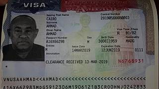 CAF president issued U.S. visa amid denial reports