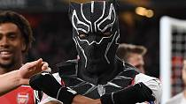 Aubameyang 'visits' Wakanda with Black Panther mask in Arsenal win