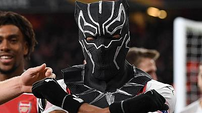 Aubameyang 'visits&#039 Wakanda with Black Panther mask in Arsenal win