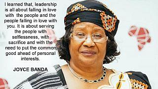 Malawi : l'ancienne présidente Joyce Banda se retire de la présidentielle