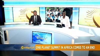 France, Kenya back calls for action on climate [Morning Call]