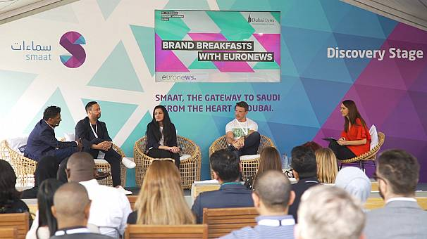 What were the latest trends in advertising showcased at Dubai Lynx?
