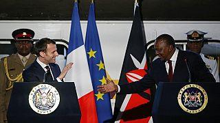 La France et le Kenya s'attaquent au changement climatique